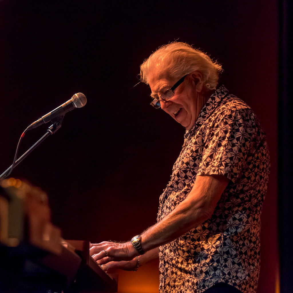 Konzert von John Mayall im Columbia Theater in Berlin