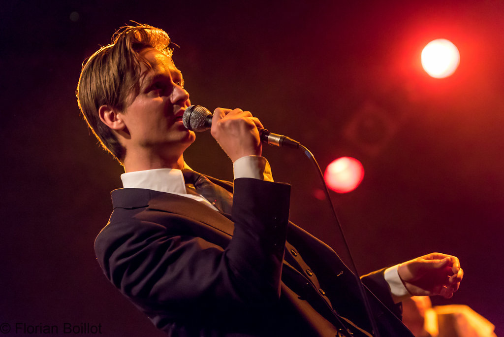 Konzert von Tom Schilling and The Jazz Kids im Columbia Theater in Berlin